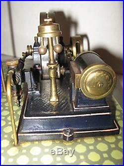 Vintage Germany Model Steam Engine Toy Plank Marklin Doll