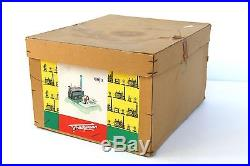 Vintage Horizontal Fleischmann 120-2 Live Steam Engine with Box & Accessories