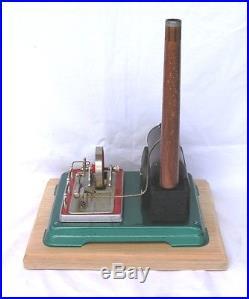Vintage Horizontal Fleischmann 120-4 (A) live steam engine