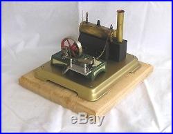 Vintage Horizontal Fleischmann 122-2 live steam engine (refurbished)
