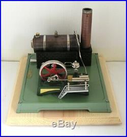 Vintage Horizontal Fleischmann 122-3 (b) live steam engine