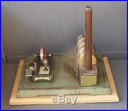 Vintage Horizontal Fleischmann 122-4 live steam engine