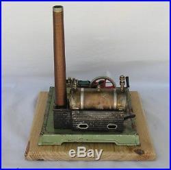 Vintage Horizontal Fleischmann 125-2 live steam engine