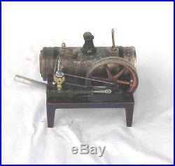 Vintage, Horizontal Gebrüder Bing Model 70-120 live steam engine Made in Bavaria