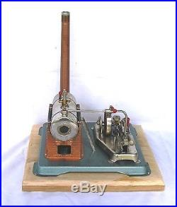 Vintage Horizontal Jensen 75 live steam engine (b)