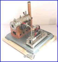 Vintage Horizontal Jensen 75 live steam engine (h)