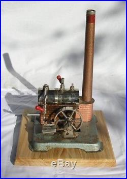 Vintage Horizontal Jensen 76 live steam engine