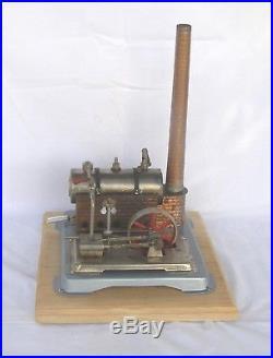 Vintage Horizontal Jensen Mod 65 live steam engine