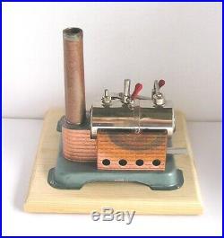 Vintage Horizontal Jensen Model 60 live steam engine (b)