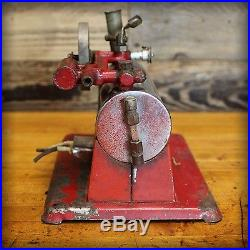 Vintage Industrial Empire Metal #32 Steam Engine Model Collectible Toy