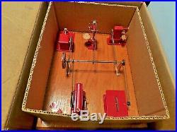 Vintage JENSEN Model 100 Steam Engine Toy Machine Work Shop NEW in Original Box