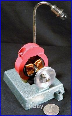 Vintage JENSEN Steam Engine accessory Generator & Light / Lamp Combo #15. NR