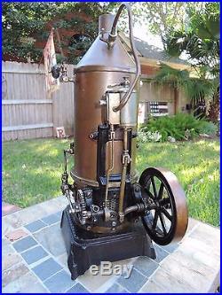 Vintage JF Falk 455/2/S Steam Engine Dampfmaschine Runs Well