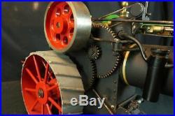Vintage J. I. Case Cast Iron 110 H. P. Live Steam Engine Tractor Farm Toy Original