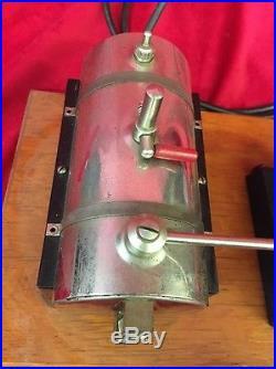 Vintage Jensen 55 Steam Engine Toy 115 Volts 575 Watts 5 Amps
