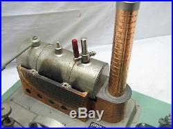 Vintage Jensen 65 Live Steam Engine withFleischmann Accessories Sausage Stuffer