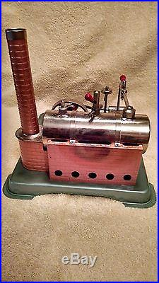 Vintage Jensen #65 Steam Engine Toy with original box Excellent