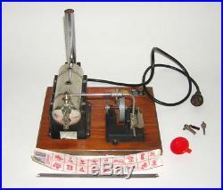 Vintage Jensen Electric Steam Engine Model No. 5 Toy with Smokestack (DAKOTApaul)