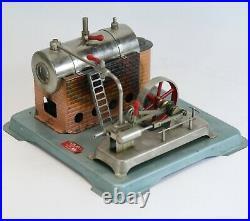 Vintage Jensen MFG Tin Toy Live Steam Engine Style Model 75 NO RESERVE