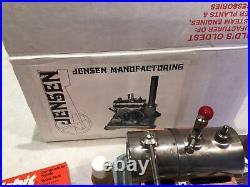 Vintage Jensen Manufacturing # 60 Steam Engine With Fuel