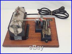 Vintage Jensen Mfg Co Style Model 25 Steam Engine 115 Volt AC DC