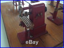 Vintage Jensen Mfg Metal Toy Steam Engine Machine Shop Original Owner VG Cond