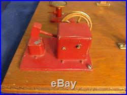 Vintage Jensen Mfg Style 100 Live Steam Engine Industrial Tool Workshop