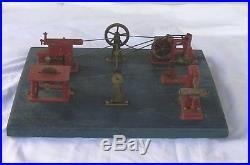 Vintage Jensen Model 100 steam engine wood shop