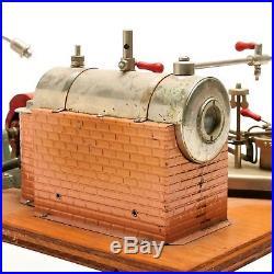 Vintage Jensen Model 10 Steam Engine With Generator & Light