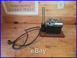 Vintage Jensen Model #35 Electric Steam Engine Large Boiler Works