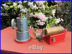 Vintage Jensen Model 45 + Weeden Model 43 Steam Engine Engines Toy