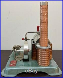 Vintage Jensen Model 60 Live Steam Engine Model