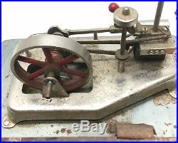 Vintage Jensen Model 75 Antique Toy Steam Engine Old Steampunk