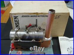 Vintage Jensen Steam Engine #65