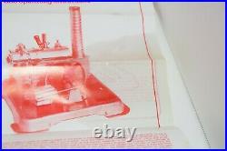 Vintage Jensen Steam Engine Model Kit No. 76 in Original Box Unassembled