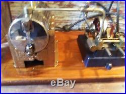 Vintage Jensen Steam Engine Toy, Model #55, Looks Nice, Runs Nice