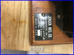Vintage Jensen Steam Engine with box