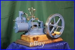 Vintage, Large educational steam engine 1950-1960 loft cut-away model