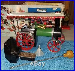 Vintage Lik e NEW IN BOX 1960's Mamod Traction Engine Steam Engine Tractor TE1A