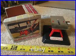 Vintage Linemar, Marx toys diecast, tin toy steam engine J9288 set with tools