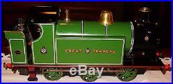 Vintage Live steam engine railroad locomotive Great Central locomotive-15360