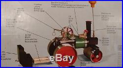 Vintage MAMOD Steam Engine Roller SR1 A with Box Excellent Condition 1969 1975