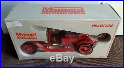Vintage Mamod FE1 Steam Engine Fire Ladder Truck with Box