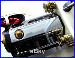 Vintage Mamod Live Steam Engine SA1 Toy Pressed Steel Roadster Original Box