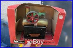 Vintage Mamod Minor 2 MM2 Steam Engine With Original Box Tin Toy S20