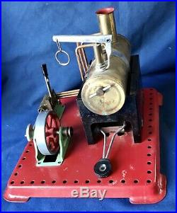 Vintage Mamod Model Toy Steam Engine Made In England Operating Condition