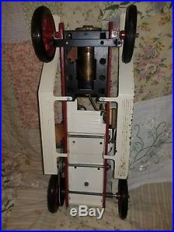 Vintage Mamod Steam Engine Roadster Car Metal Tin Toy England Restore Parts