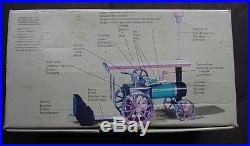 Vintage Mamod Steam Engine Tractor withExtras & Box Model TE1a Made in England