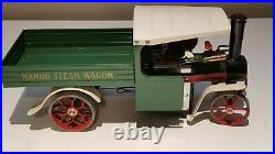 Vintage Mamod Steam Model Collectible Steam Engine Wagon SW1