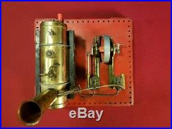 Vintage Mamod Toy Dual Piston Steam Engine Made in England